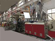 PVC地板同步对花生产线采用国际技术