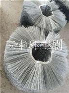 钢丝扫雪车毛刷,全钢丝除雪刷
