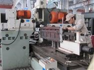 煤機槽幫鋼專用機床