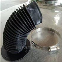 油缸丝杠防护罩圆形软连接