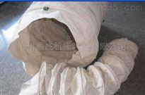 自定输送水泥帆布卸料口伸缩布袋厂家