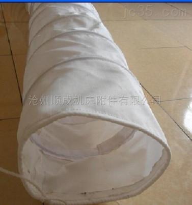 纯棉帆布输送颗粒水泥伸缩布袋