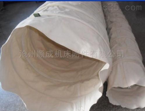 帆布水泥布袋散装机除尘耐磨伸缩布袋
