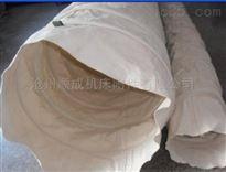 自定吊环式水泥卸料口伸缩布袋