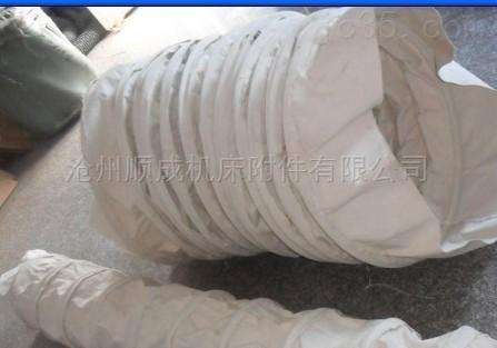 水泥散装机布袋耐酸碱伸缩帆布短布筒