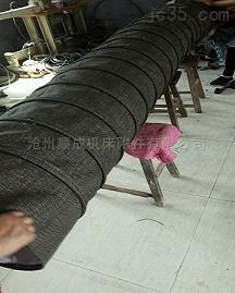 抗压型帆布水泥伸缩布袋