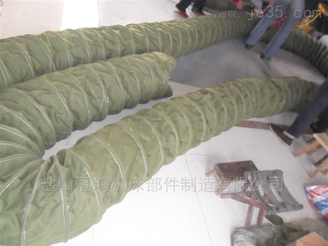 耐磨防塵帆布伸縮軟連接風管