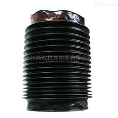 自定金属法兰盘连接丝杠防护罩