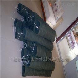 双层加厚帆布通风管按要求尺寸长度定制