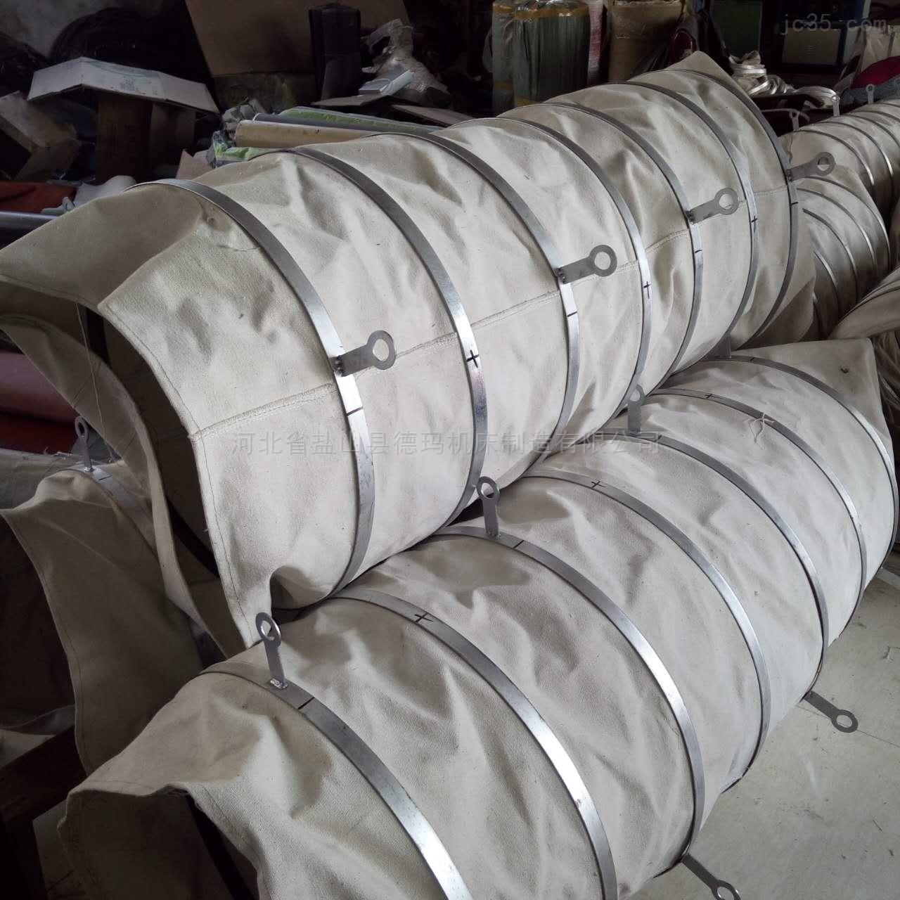 自定-橡胶布水泥散装伸缩袋