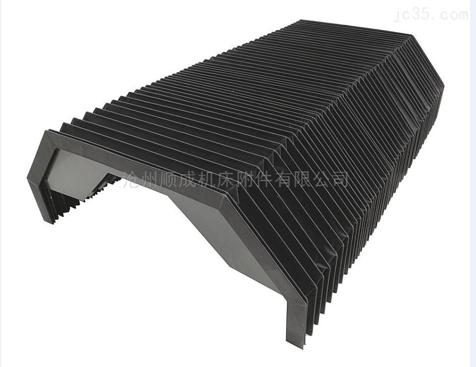 机床pvc异形风琴防护罩 阻燃耐腐蚀