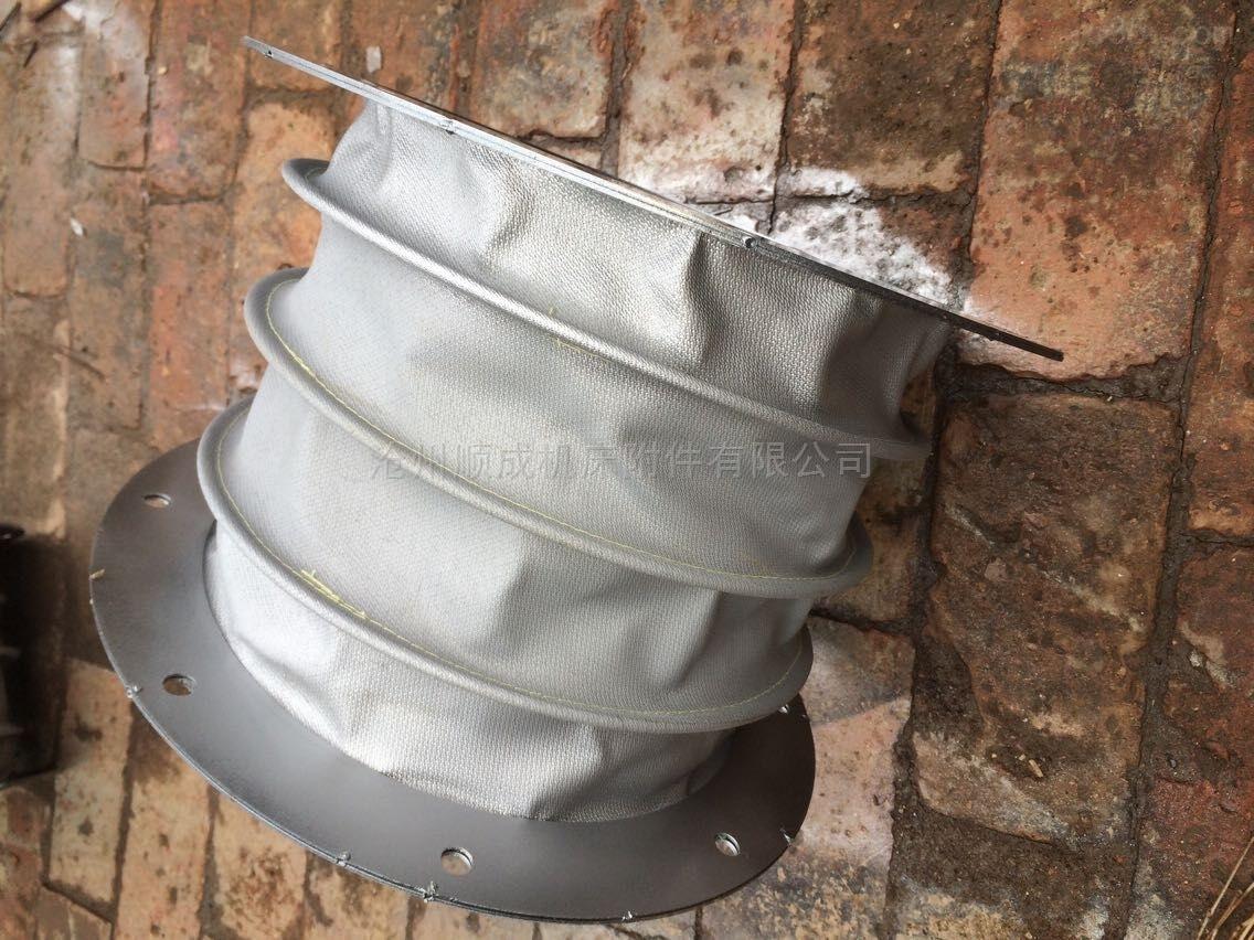 厂家定制通风吊环式帆布伸缩软连接
