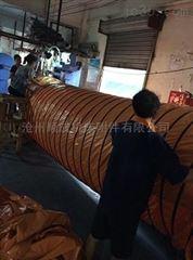 自定厂家定制圆形帆布通风伸缩软连接
