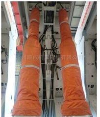 自定厂家定制吊环帆布通风伸缩软连接