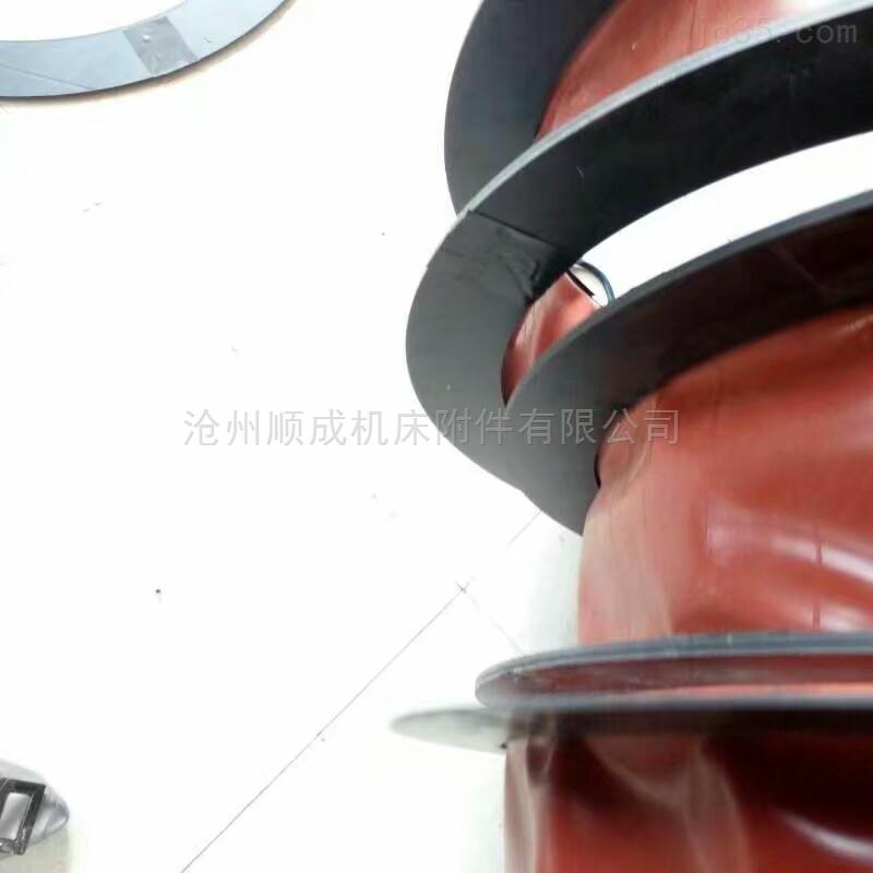 厂家定制通风帆布伸缩软连接