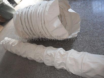 散装机伸缩布袋 耐高温帆布布筒