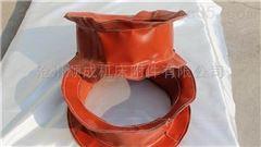 自定厂家供应高温硅胶布伸缩软连接