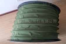 加工耐磨绿色帆布通风软连接