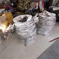 自定耐温耐高压水泥帆布伸缩布袋生产
