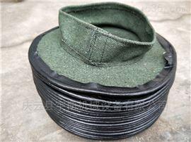 机床伸缩丝杠防护罩   高温拉链式防尘套