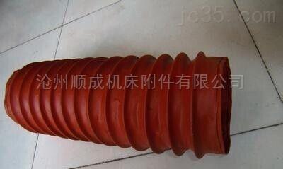 加工耐温伸缩硅胶布软连接