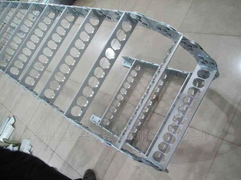 高强度耐磨型钢制穿线钢铝拖链