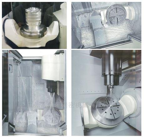 佳速五轴加工中心DD马达壳体加工利器