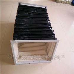 重庆方形耐高温通风口伸缩软连接价格