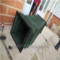 方形钢丝骨架耐温风道除尘软连接加工价