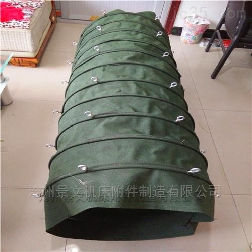 吊环式耐磨损帆布伸缩布袋满足客户一切需求!