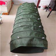耐高温帆布粉尘输送伸缩软管厂家价格