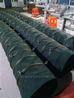 江西加厚绿色帆布通风管结构