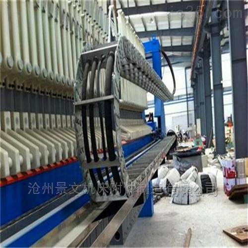 四川TL125钢铝拖链用于线缆油管的保护