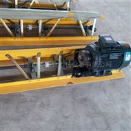 10米电动振动梁 路面提浆压实整平机震动梁