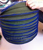 新品橡胶布丝杠防护罩精心制作
