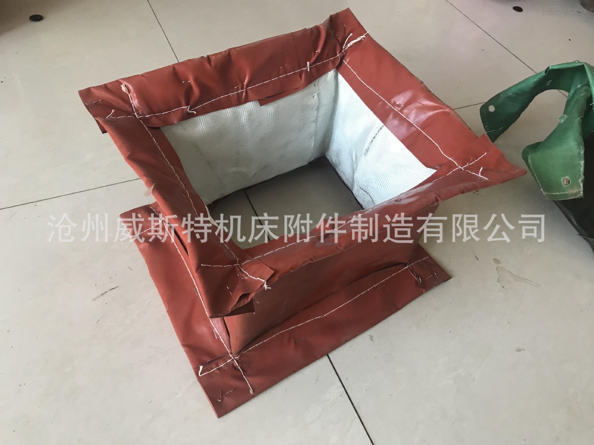 硅钛翻边高温通风软连接