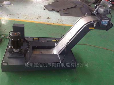 不锈钢面板数控机床磁性排屑机