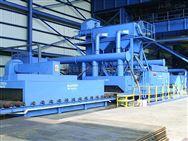 江苏龙发公司钢板预处理线的用途