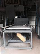 江苏龙发公司铝膜板抛丸机