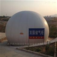 新型半球式双膜气柜外型美观