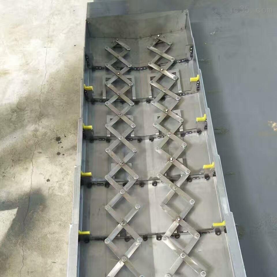 加工中心钢板导轨防护罩