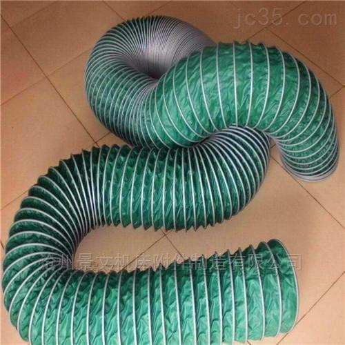 高热气体耐磨帆布通风软管厂家批发价