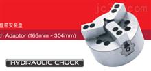 HC-A系列三爪闭心式卡盘带安装盘