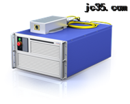 中功率绿光连续光纤激光器