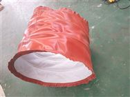 伸缩式圆形通风硅胶布伸缩软连接