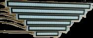 数控机床防水荧光灯