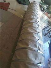 加厚帆布伸縮除塵散裝布袋