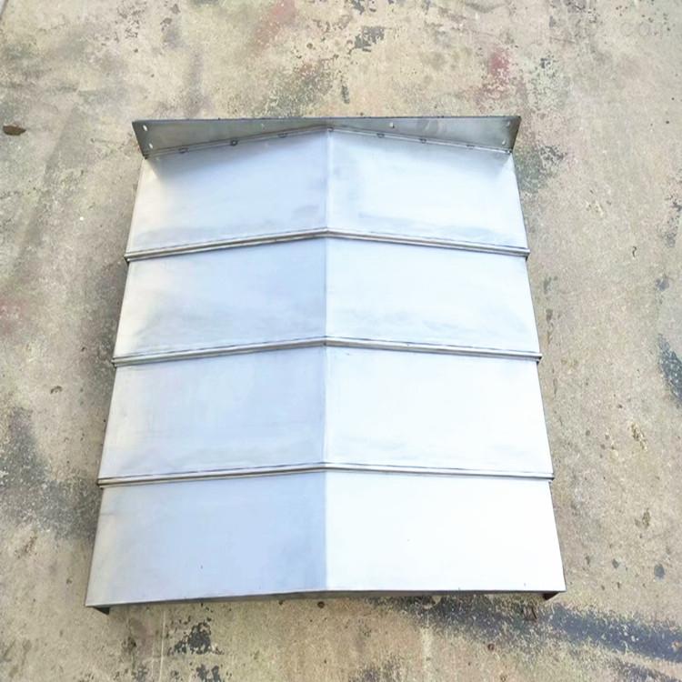 专业定制机床钢板防护罩