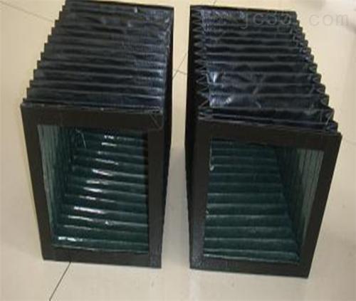 方形风琴式防尘罩