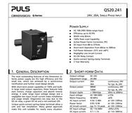 德国PULS普尔世电源模块CS5.244